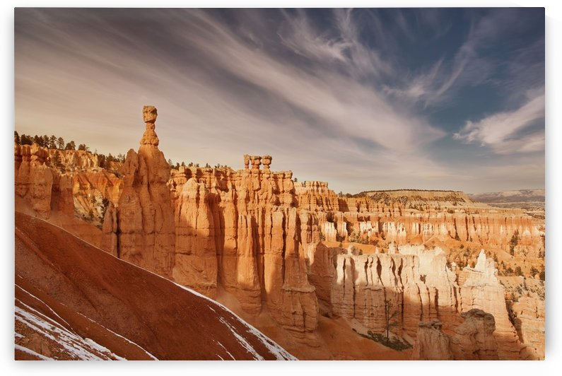 Bryce Canyon Sunset 1 by Christopher Dormoy