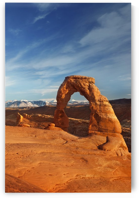 Delicate Arch Sunset by Christopher Dormoy