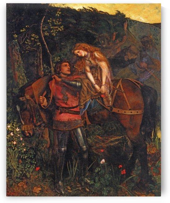 La belle dame sans merci by Arthur Hughes