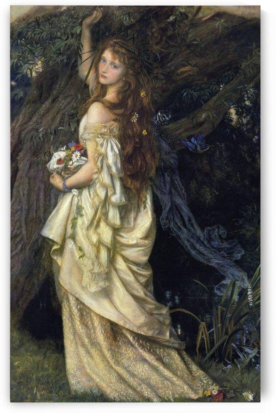 Ophelia, 1865 by Arthur Hughes