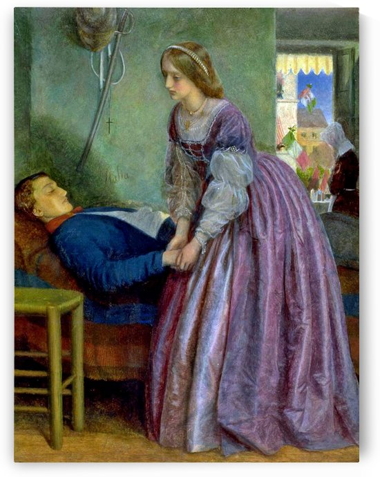 That was a Piedmontese by Arthur Hughes