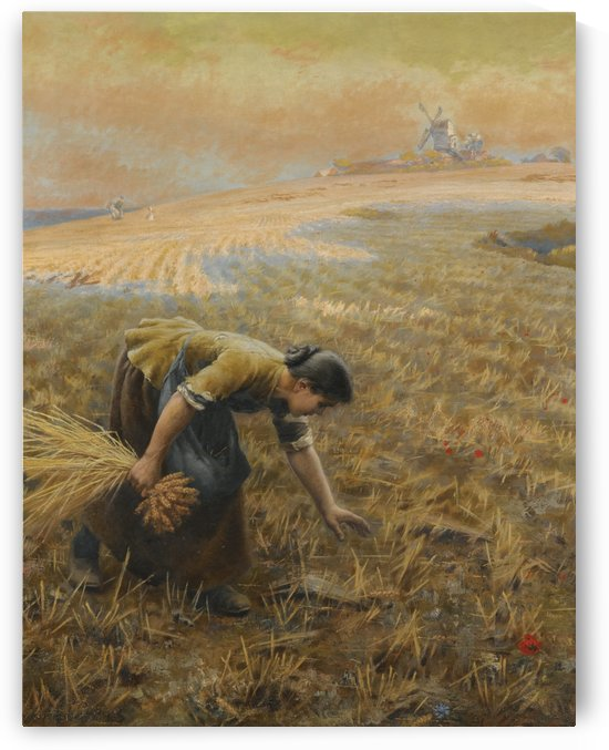 Gleaning by Arthur Hughes