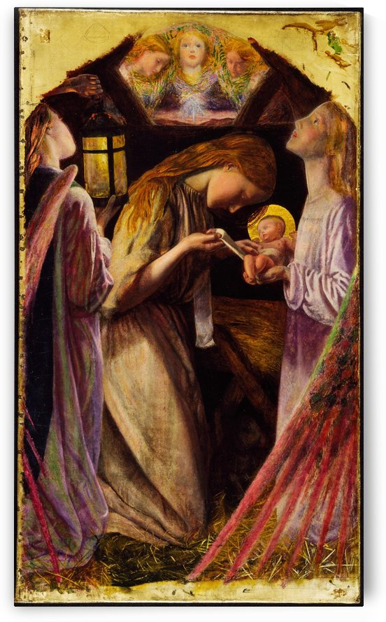 The Nativity by Arthur Hughes