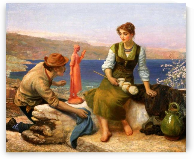 The Potters Courtship by Arthur Hughes