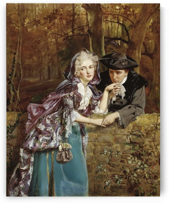 A secret assignation by Talbot Hughes