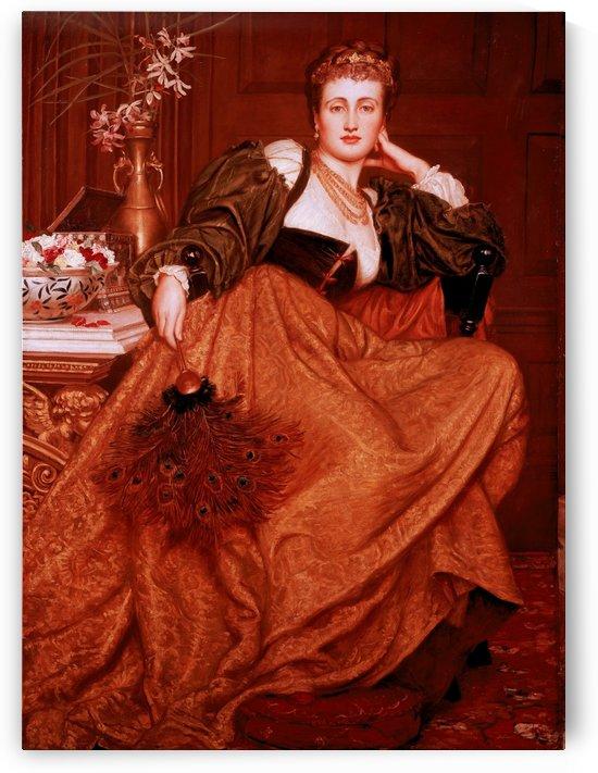 Leonora of Mantua by Valentine Cameron Prinsep
