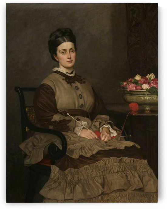 Mrs Oliver Ormerod Walker by Valentine Cameron Prinsep