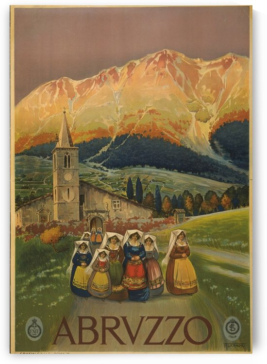 Abruzzo by VINTAGE POSTER