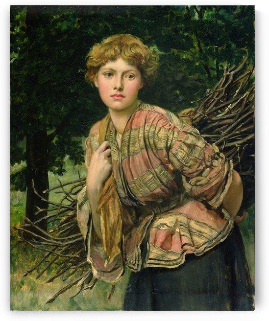 The gamekeepers daughter by Valentine Cameron Prinsep