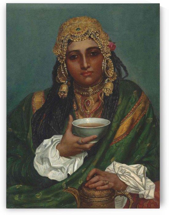 Martaba, a Kashmiree Nautch girl by Valentine Cameron Prinsep