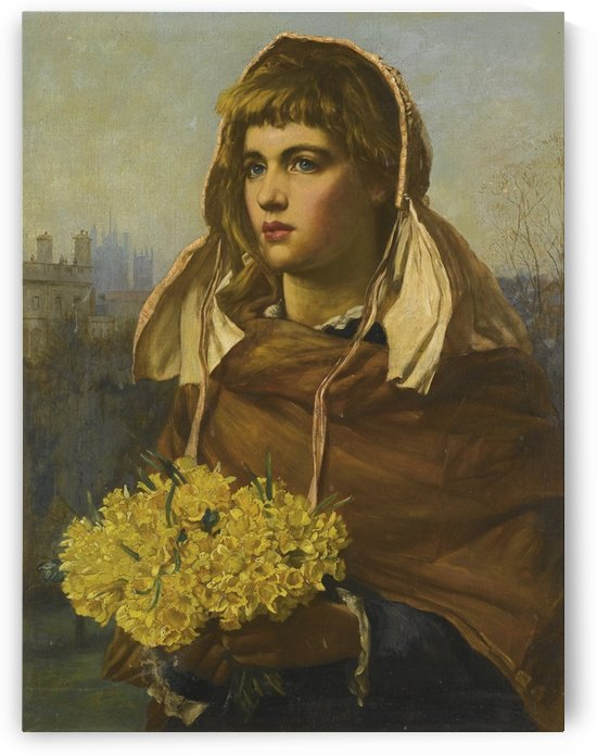 Fresh flowers from the country by Valentine Cameron Prinsep