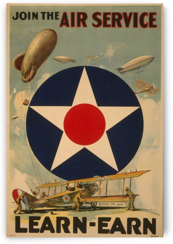 Air Service by VINTAGE POSTER