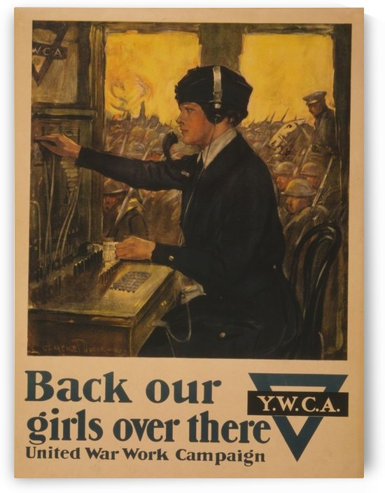 Back our girls by VINTAGE POSTER