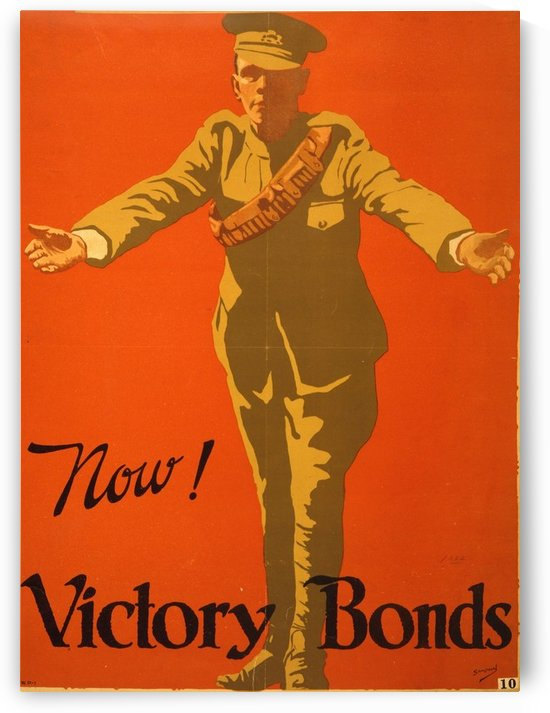 Buy Victory Bonds by VINTAGE POSTER