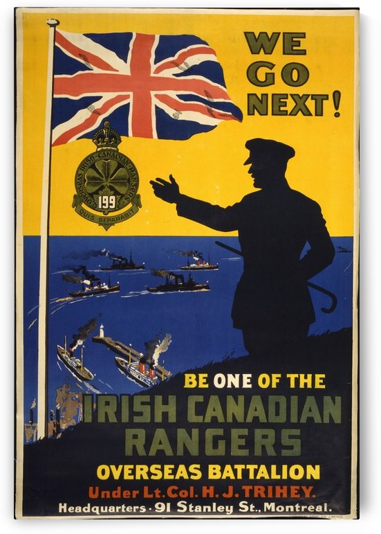 Canadian Rangers by VINTAGE POSTER