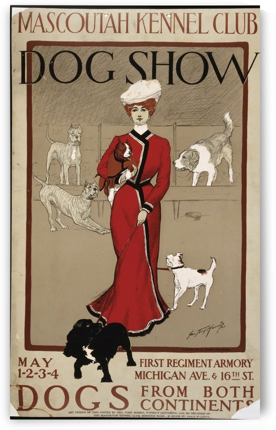 Dog Show by VINTAGE POSTER