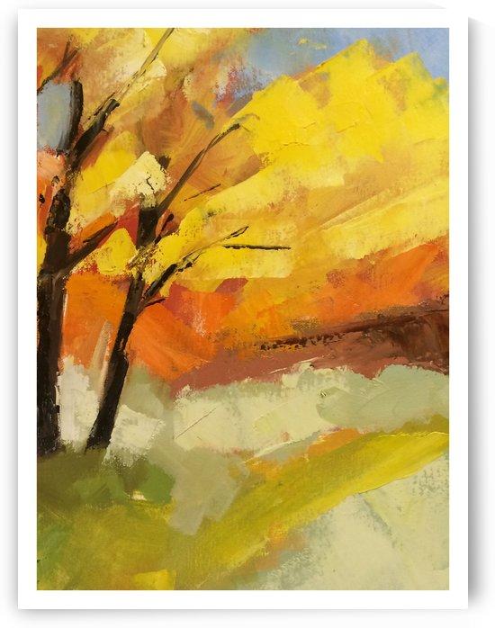 Leaves by Hal Sadler