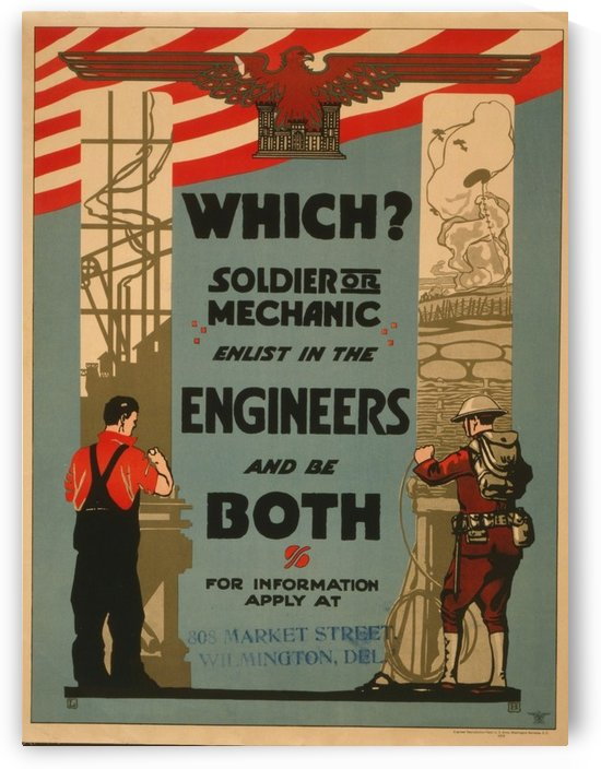 Engineers by VINTAGE POSTER