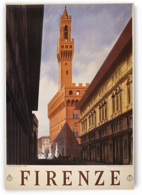 Firenze by VINTAGE POSTER