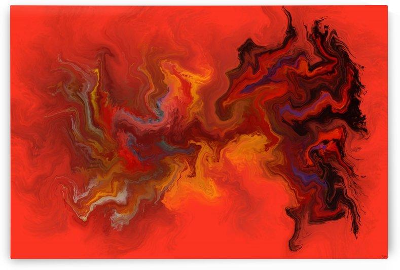 Trepidorus V1 - digital abstract by Cersatti Art