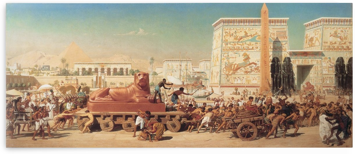 Israel in Egypt by Edward Poynter