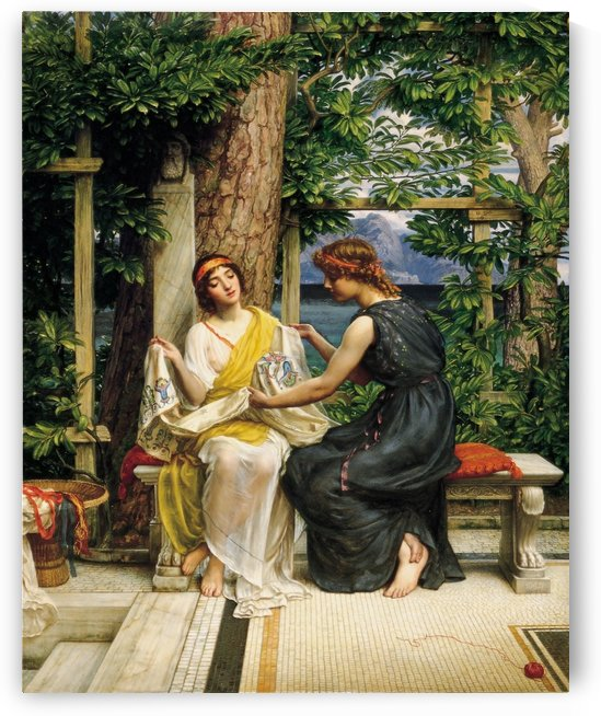 Helena and Hermia by Edward Poynter