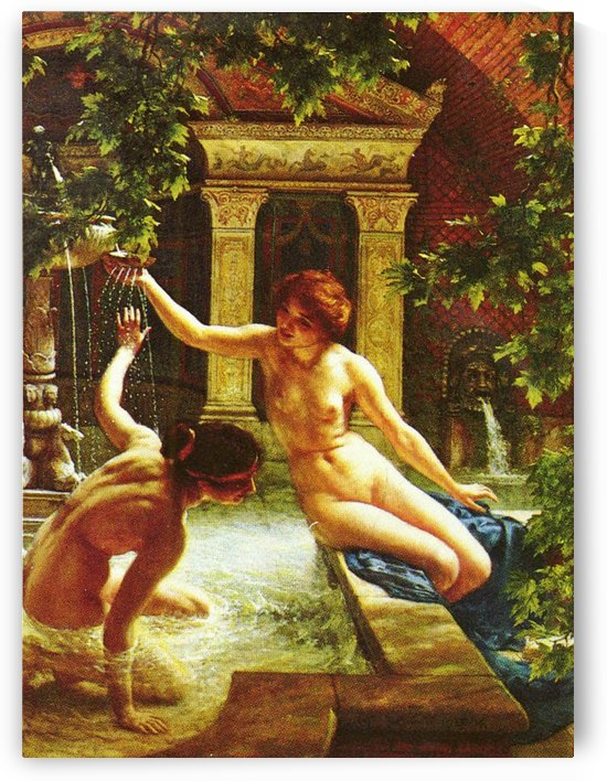 Water babies by Edward Poynter