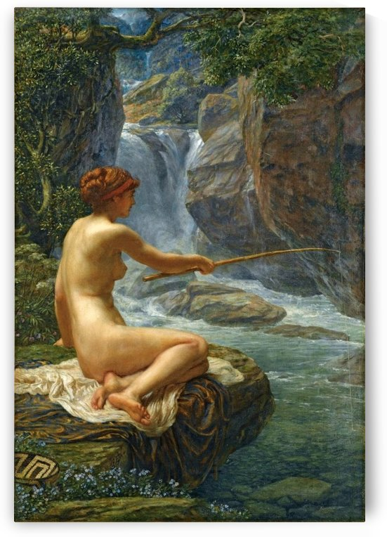 The Nymph of the Stream by Edward Poynter