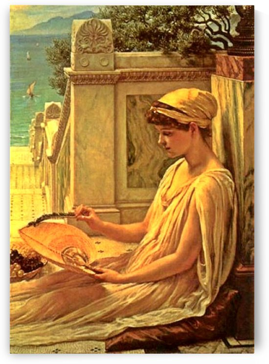 On the terrace by Edward Poynter