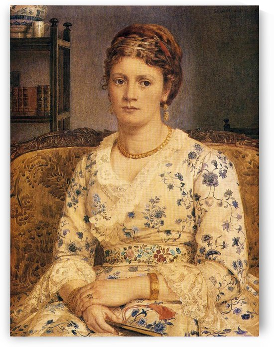 Portrait of Mrs J P Heselitine by Edward Poynter