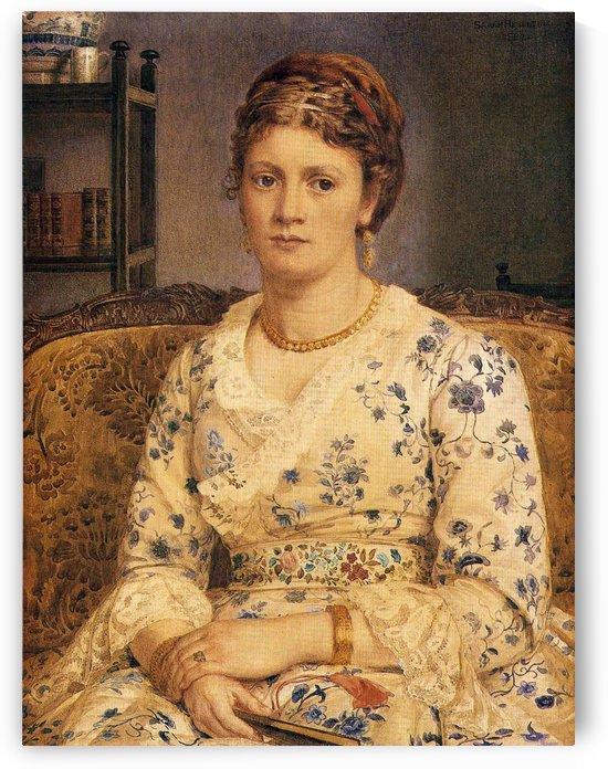 Portrait of Mrs J P Heselitine by Edward Poynter