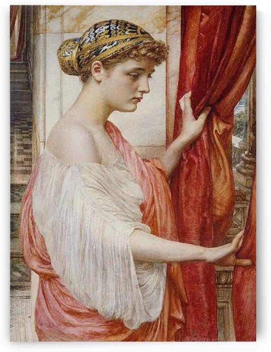 At the window by Edward Poynter