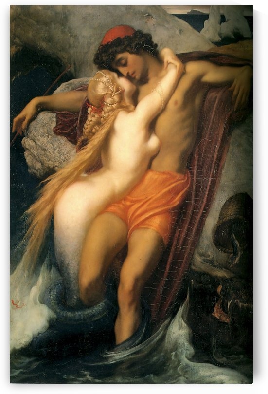The fisherman and the syren by Edward Poynter