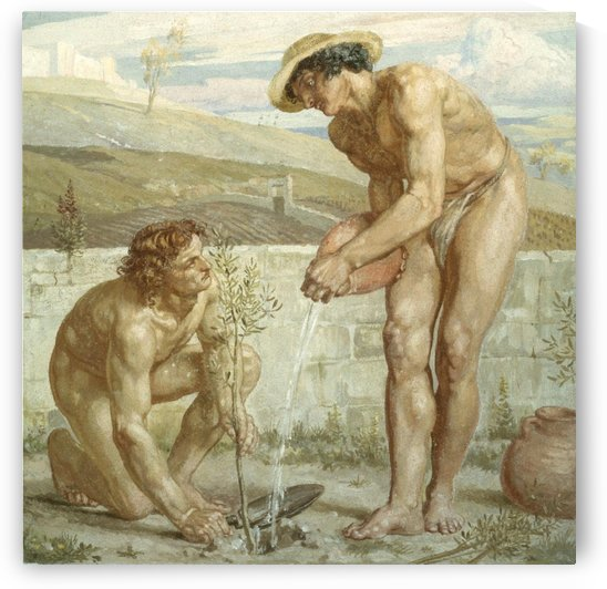 Paul and Apollos by Edward Poynter