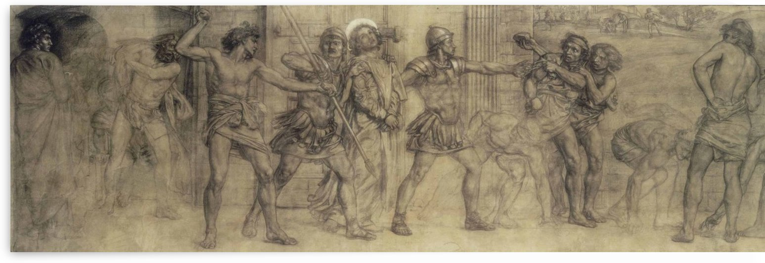 St Stephen led to Martyrdom by Edward Poynter
