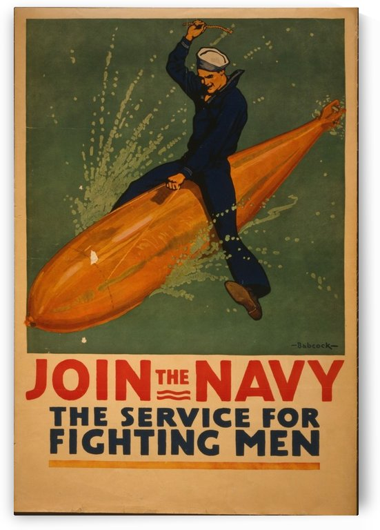 Join the Navy by VINTAGE POSTER