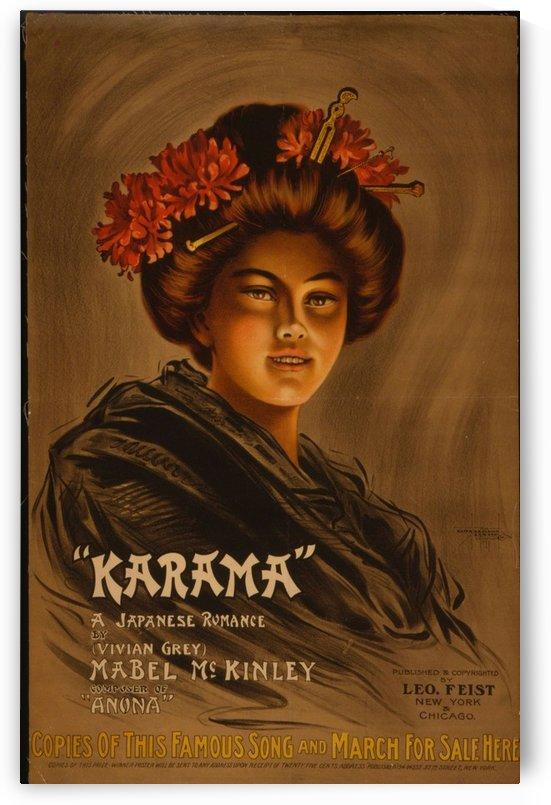 Karama by VINTAGE POSTER