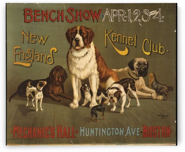 Kennel Club by VINTAGE POSTER