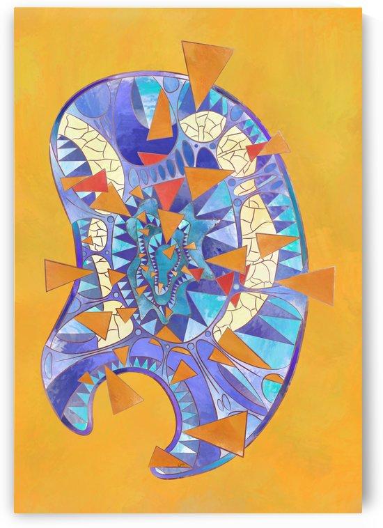 Dysitron V3 - digital abstract by Cersatti Art