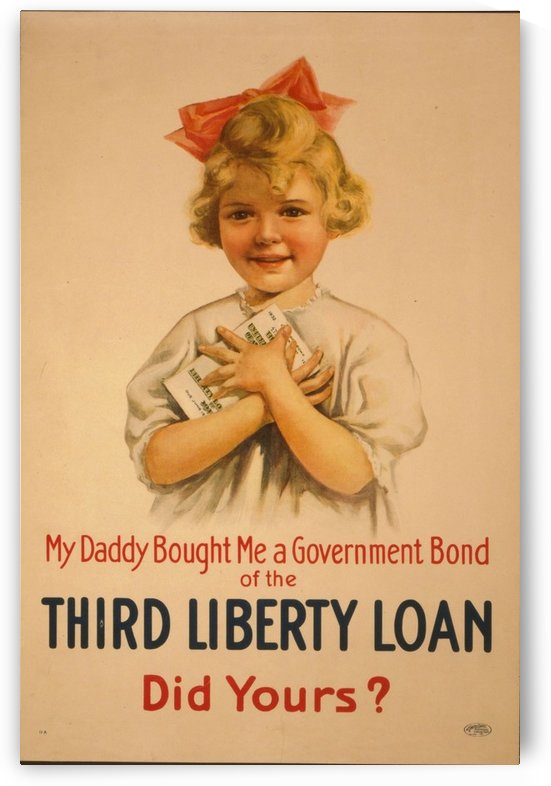 Liberty Loan by VINTAGE POSTER