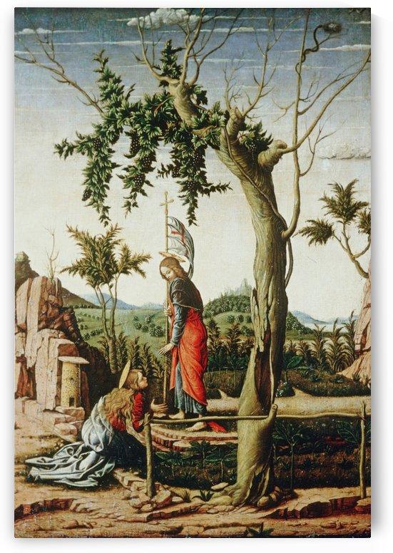 Noli me tangere by Andrea Mantegna