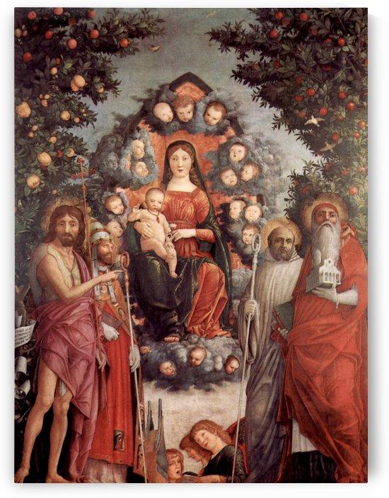 Trivulzio Madonna by Andrea Mantegna