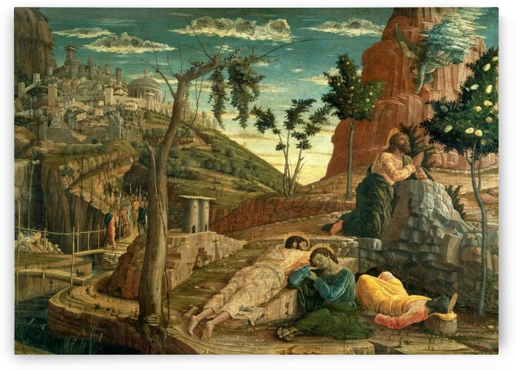 San Zeno Agony in the Garden by Andrea Mantegna