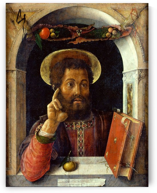 Saint Mark by Andrea Mantegna