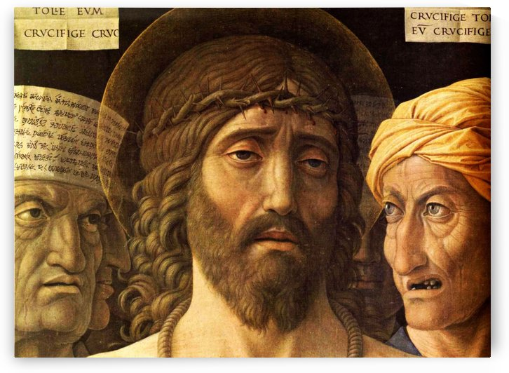 Ecce Homo detail by Andrea Mantegna