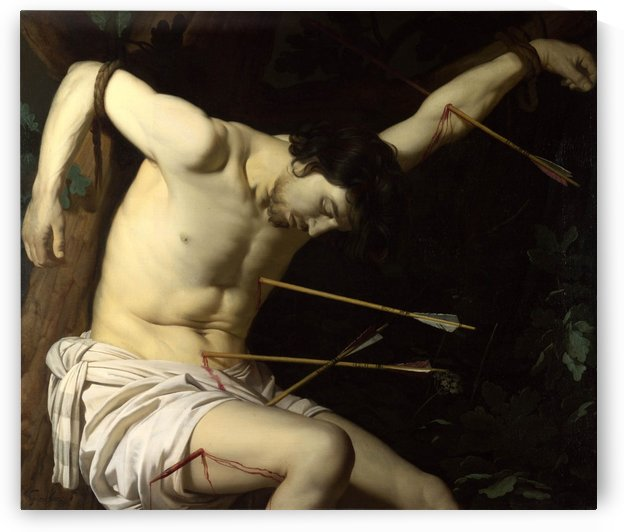 Saint Sebastian by Andrea Mantegna
