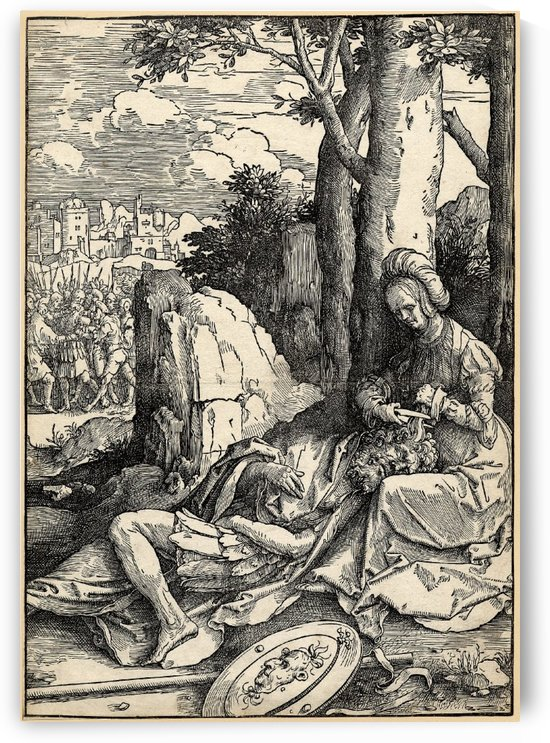 Samson and Delilah by Andrea Mantegna
