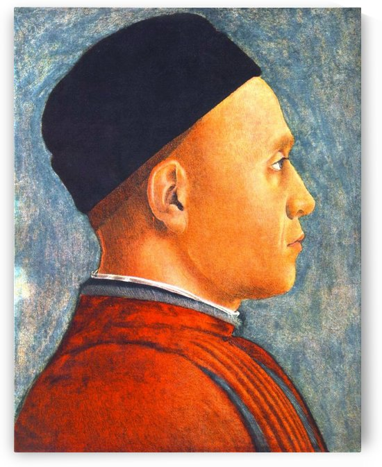 Portrait of a Young Man by Andrea Mantegna