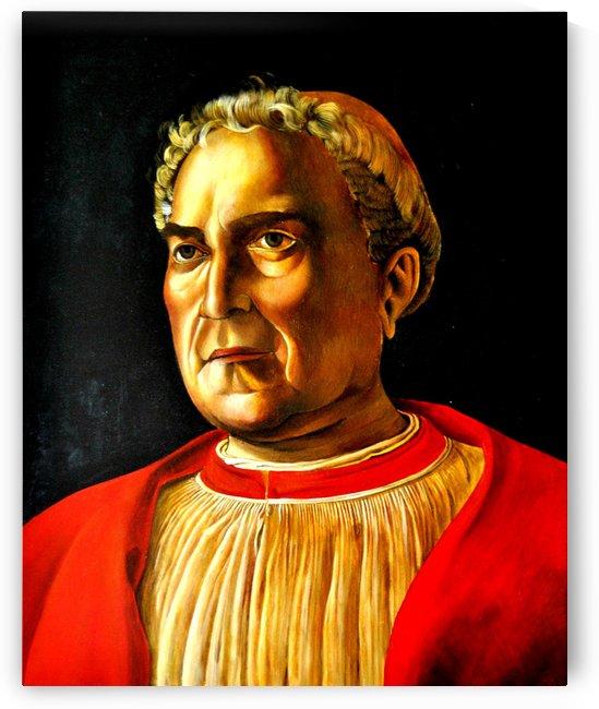 Ritratto del cardinale Ludovico Trevisan by Andrea Mantegna