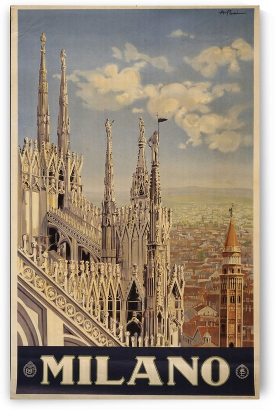 Milano by VINTAGE POSTER